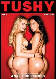 Anal Threesomes Vol. 4 DVD porn movie from Tushy.