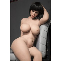 SRSD - 5ft 4' H-cup Thicc Fat Butt Sex Doll with Big Curves Sex Toy