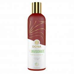 Dona Essential Massage Oil Relax - Coconut and Lime - 4oz. Sex Toy