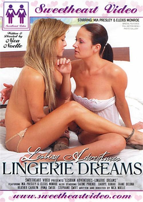 Lesbian lingerie dvd