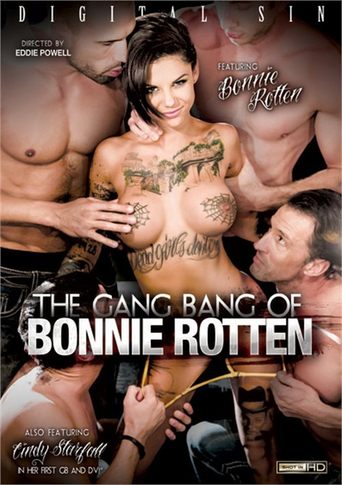 Gang Bang Of Bonnie Rotten, The Boxcover