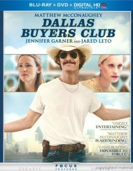 Dallas Buyers Club (Blu-ray + DVD + UltraViolet) Gay Cinema Movie