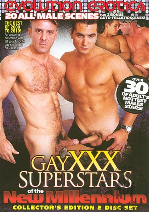 Gay XXX Superstars Of The New Millennium Boxcover