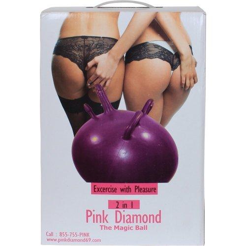 Sex ball with dildo