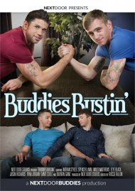 Buddies Bustin' gay porn DVD from Next Door Studios