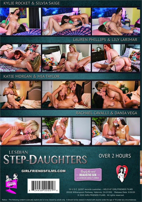 Lesbian Step-Daughters Boxcover