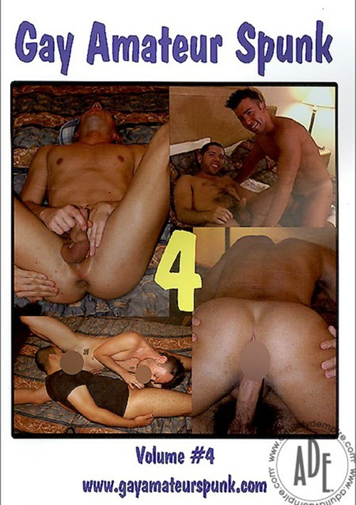 Gay Amateur Spunk Vol. 4 Boxcover