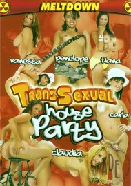 Transsexual House Party Porn Video