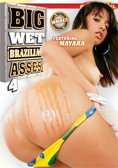 Big Wet Brazilian Asses! 4 Boxcover