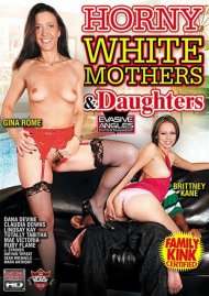 Horny White Mothers & Daughters image