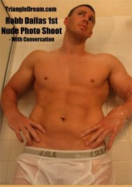 Robb Dallas 1st Nude Photo Shoot - with Conversation Porn Video