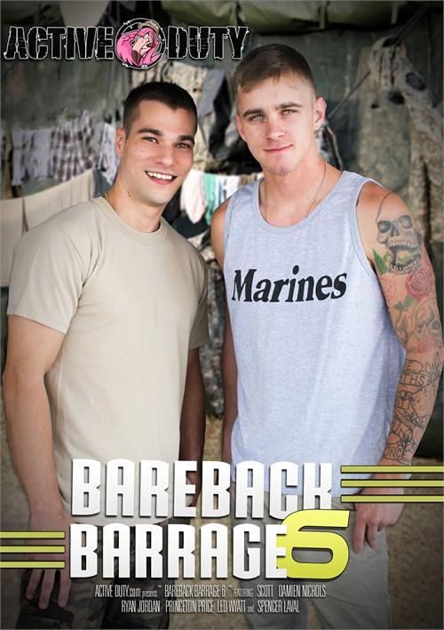 Bareback Barrage #6 Boxcover