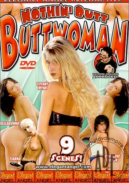 Nothin' Butt Buttwoman Boxcover