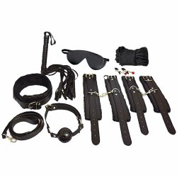 Everything Bondage Kit - Black Sex Toy