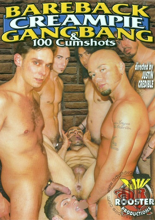 Gang bang gay creampie