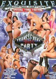 Transsexual 3 Way Party Porn Video