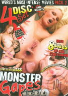 Monster Gapes 4-Pack Porn Movie