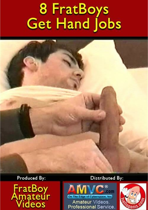 8 FratBoys Get Hand Jobs Boxcover