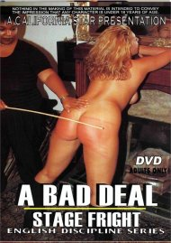 A Bad Deal and Stage Fright Porn Video