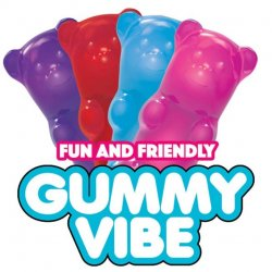 Rock Candy - Gummy Vibe Mini Vibrator - Color Chosen At Random