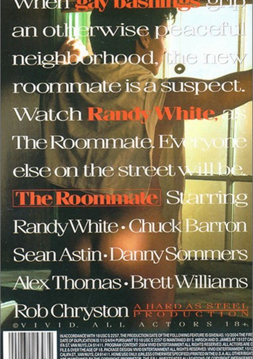 The Roommate (Vivid) Cover Back