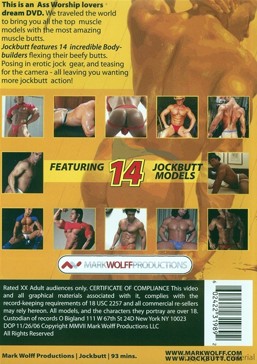 Jockbutt Cover Back