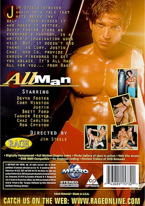 Chaz Carlton Porn - All Man