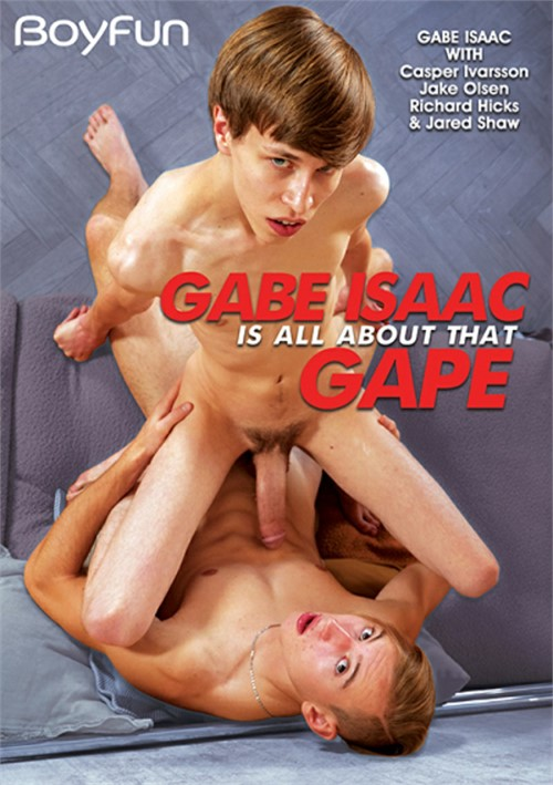 Gabe Isaac is All About that Gape Boxcover