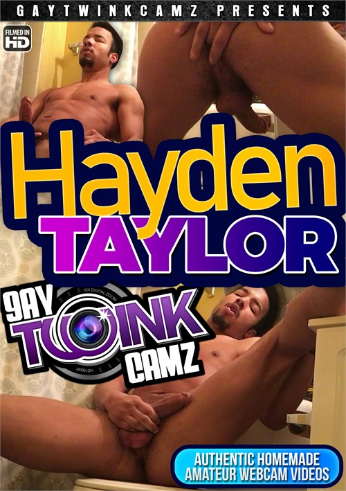 Amateur Hayden Stroking on the Toilet Boxcover