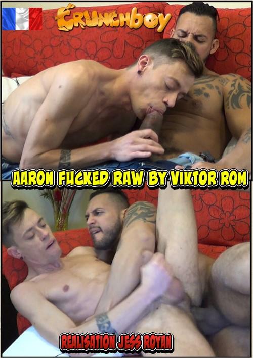 Aaron Fucked Raw by Viktor Rom Boxcover