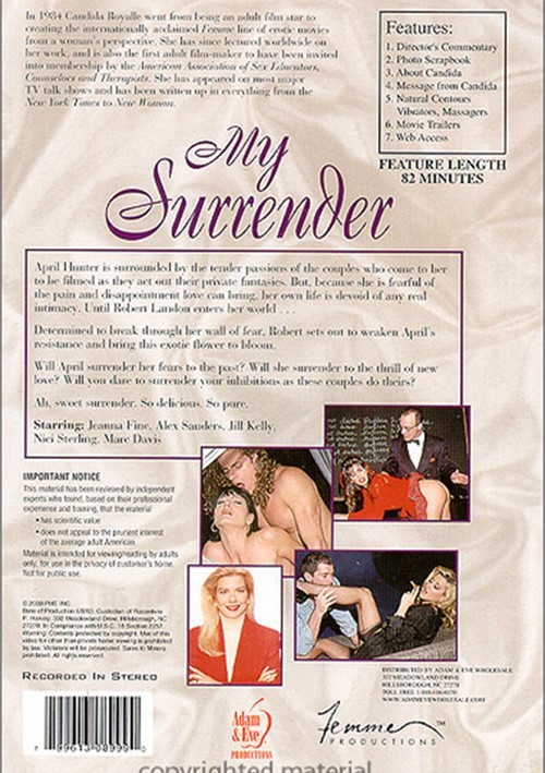 Back cover of My Surrender