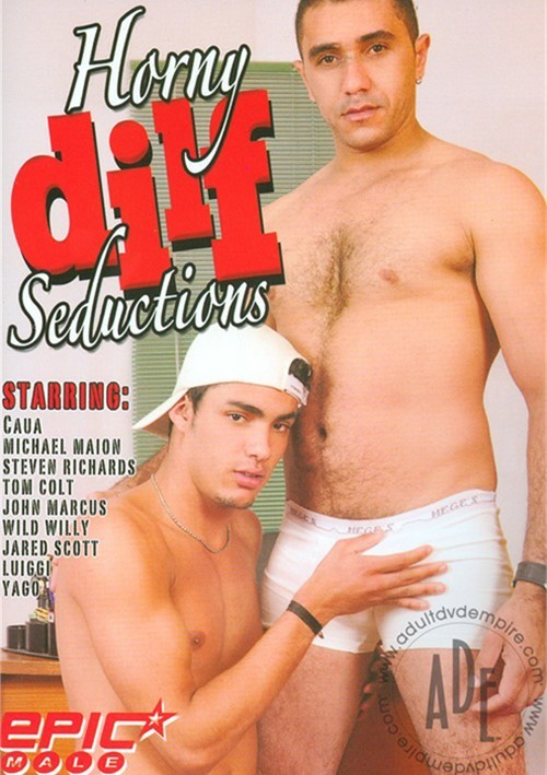 Horny Dilf Seductions Boxcover