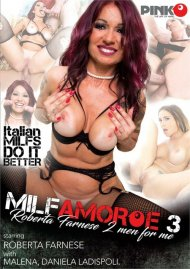 MILF Amore 3: Roberta Farnese 2 Men For Me Porn Video