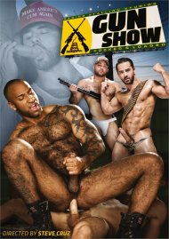 Gun Show gay porn DVD from Raging Stallion Studios