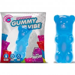 Rock Candy - Gummy Bear 5-function Mini Vibe - Blueberry Blue Sex Toy