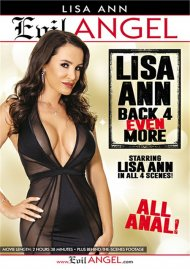 Lisa Ann: Back 4 Even More porn DVD from Evil Angel.