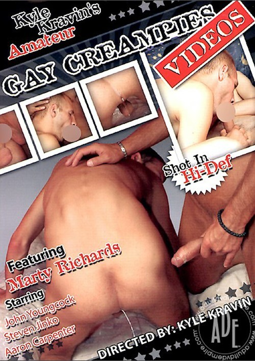 Kyle Kravin's Amateur Gay Creampies Videos Boxcover
