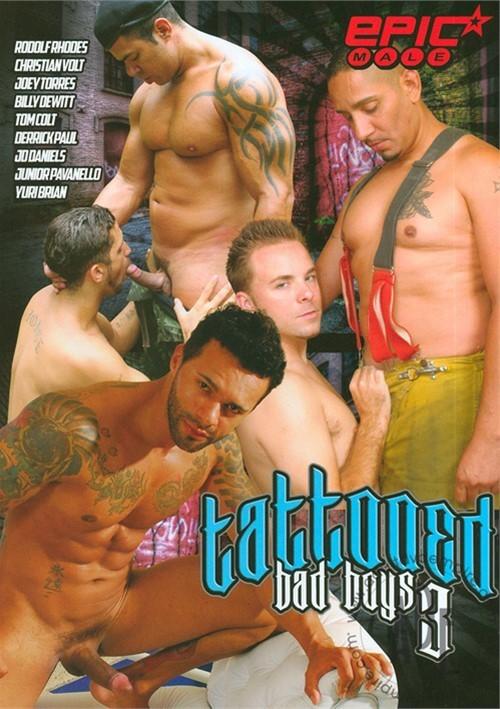 Tattooed Bad Boys 3 Boxcover