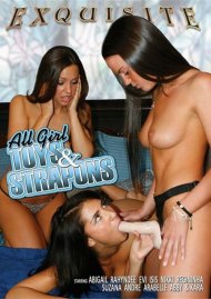 All Girl Toys & Strapons Porn Video