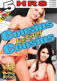 Cousins Licking Cousins image