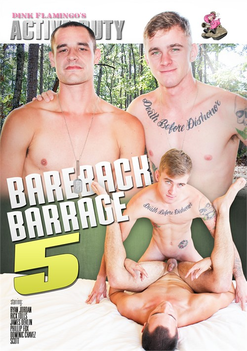 Bareback Barrage #5 Boxcover