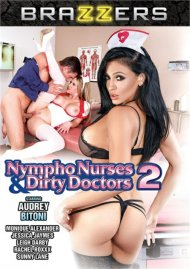 Nympho Nurses And Dirty Doctors 2 DVD porn movie from Brazzers.