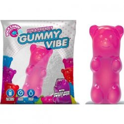 Rock Candy - Gummy Bear 5-function Mini Vibe - Bubblegum Pink