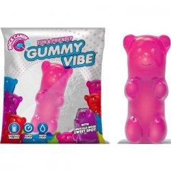 Rock Candy - Gummy Bear 5-function Mini Vibe - Bubblegum Pink