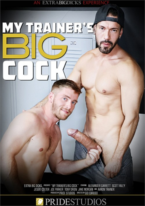 My Trainers Big Cock Cover Front