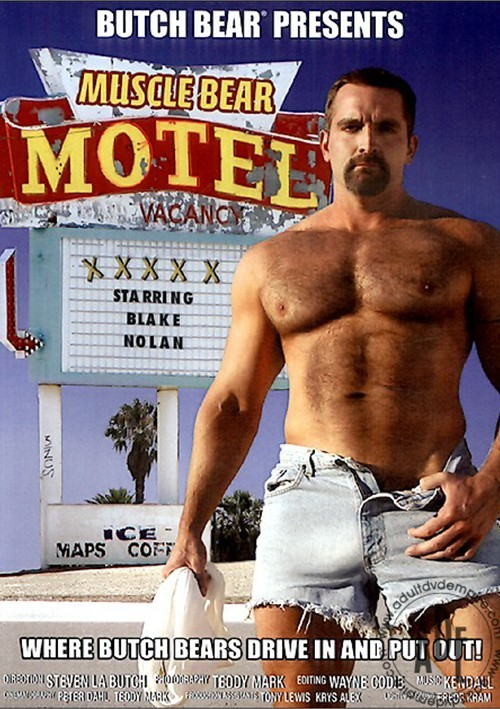 Muscle Bear Motel Cover Front