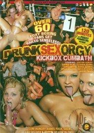Drunk Sex Orgy: Kickbox Cumbath Porn Video