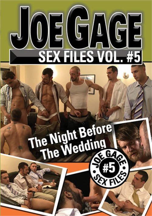 Joe Gage Sex Files 5: The Night Before the Wedding Boxcover