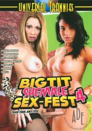 Big Tit Shemale Sex-Fest 4 Porn Video