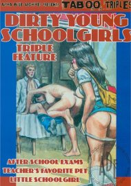 Dirty Young Schoolgirls Triple Feature Porn Video